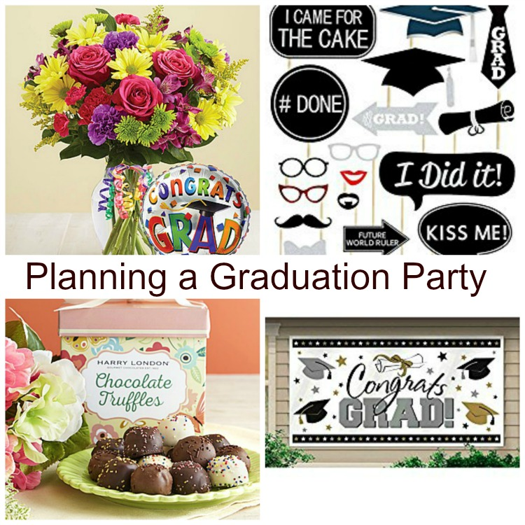 how to plan a graduation party on a budget