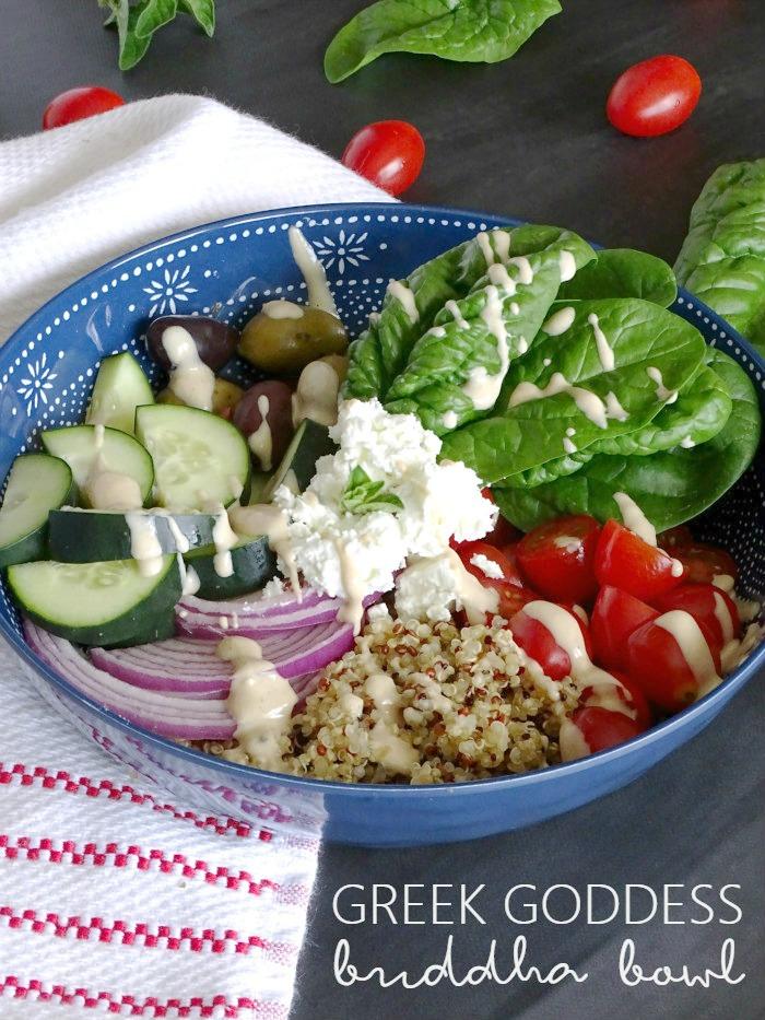 greek goddess buddha salad