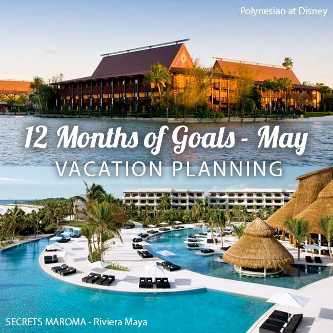May travel goal for Carrie of Curly Crafty Mom