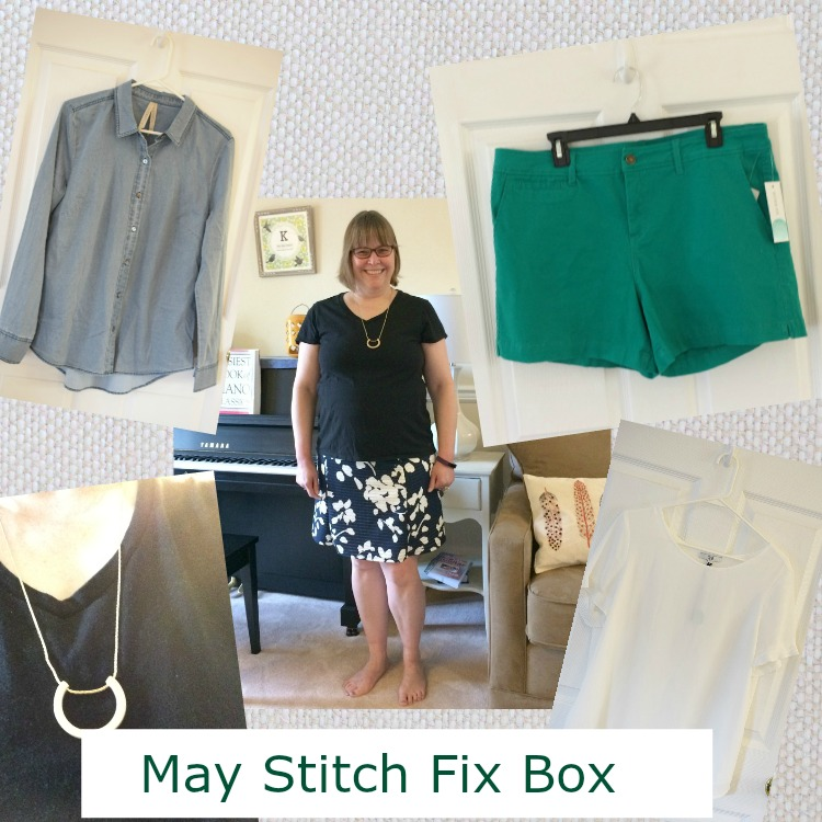 May Stitch Fix box reveal