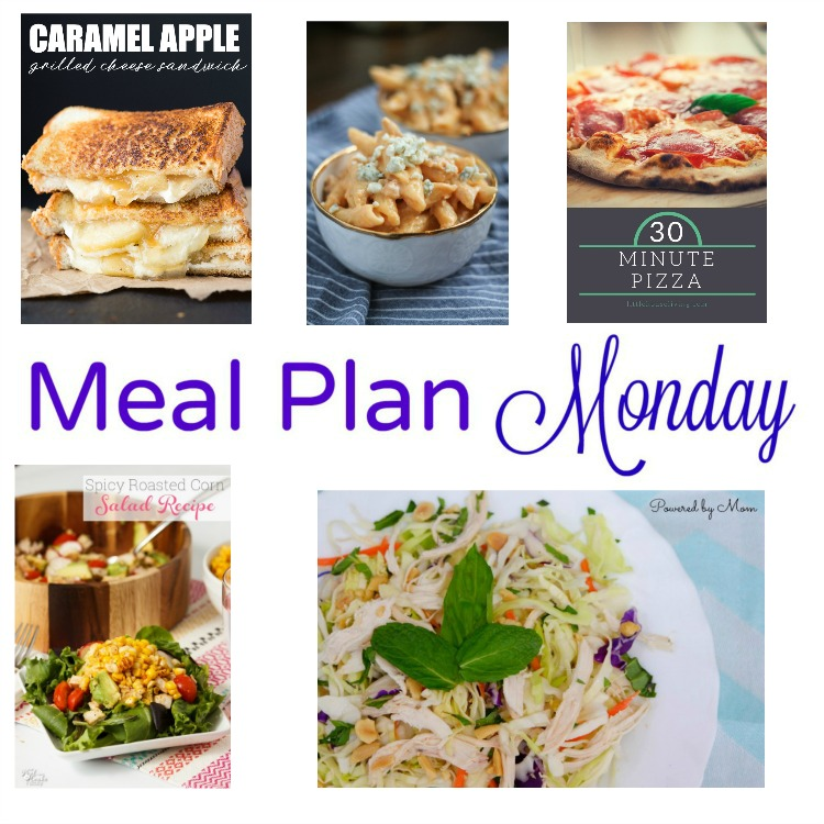 Meal Plan Monday -- 5 recipes for great weeknight meals