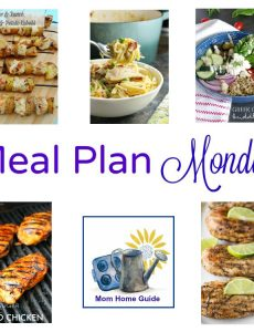 Meal Plan Monday – Chicken Carbonara Pasta and Beer & Ranch Chicken Kabobs