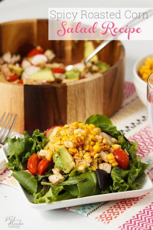 spicy roasted corn avocado salad recipe