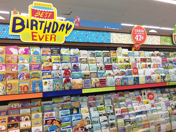 American Greetings cards at Walmart