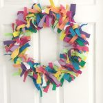 Colorful Felt Wreath