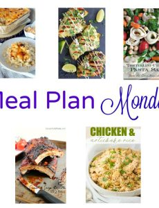 meal plan monday recipes for June 12