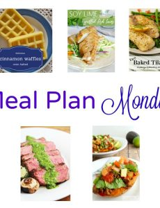 Meal Plan Monday — Soy Lime Tacos & Cinnamon Waffles