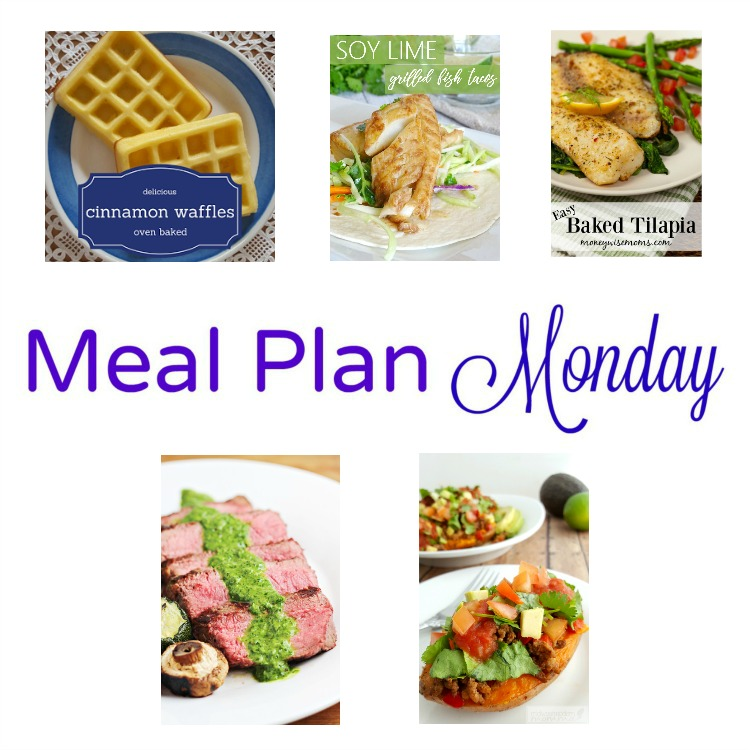 Meal Plan Monday, a collection of five recipesfor delicious weeknight meals
