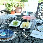 Outdoor Dining on my Summer Patio