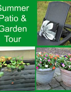 Summer Patio & Garden Tour