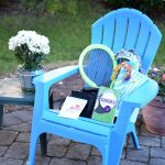 Summer Adirondack Chair Gift Basket Idea