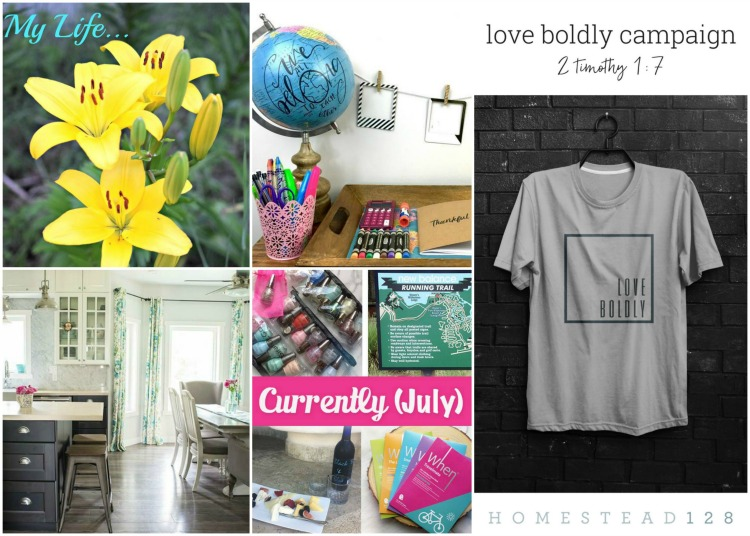 July 16 Creative Corner Link Up party features