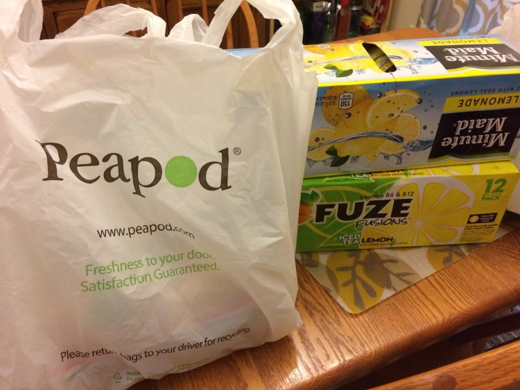 Peapod groceries