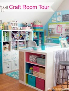 Craft Room Reveal & Creative Corner Link Up Party