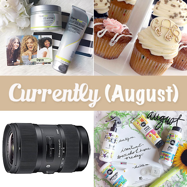 Currently (August) by Curly Crafty Mom