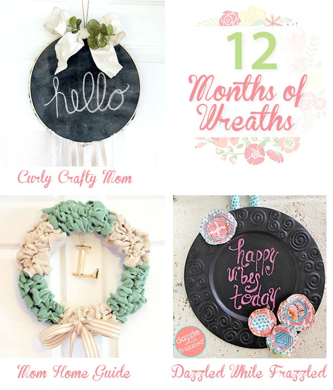DIY wreath tutorials