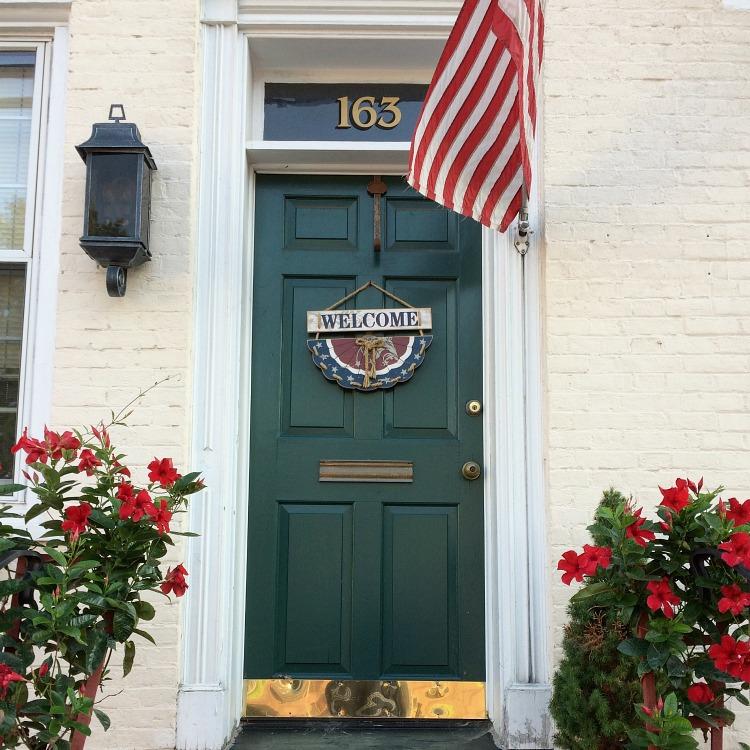 green downtown front door