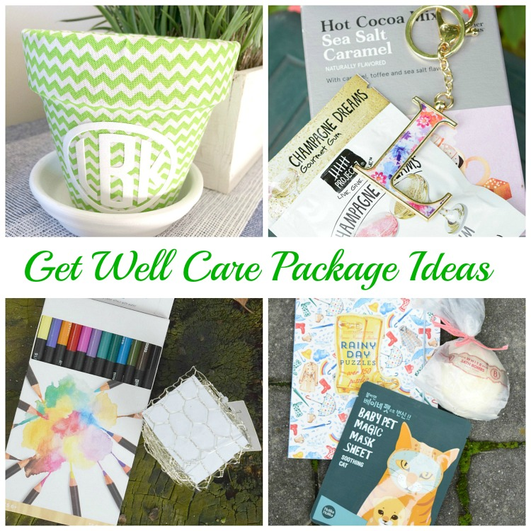 get well gift package ideas