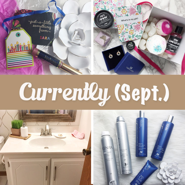 Curly Crafty Mom Currently September 2017 post