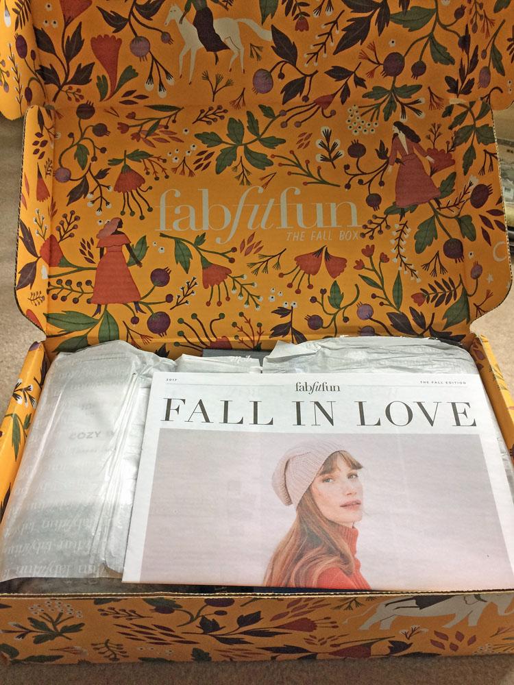 Fall FabFitFun box