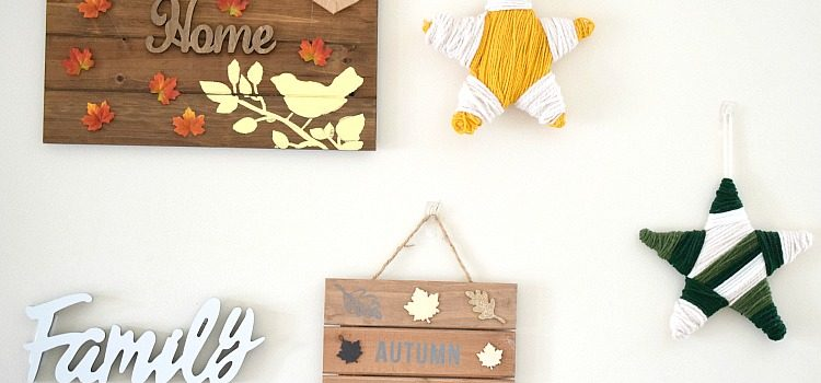 DIY Fall Gallery Wall
