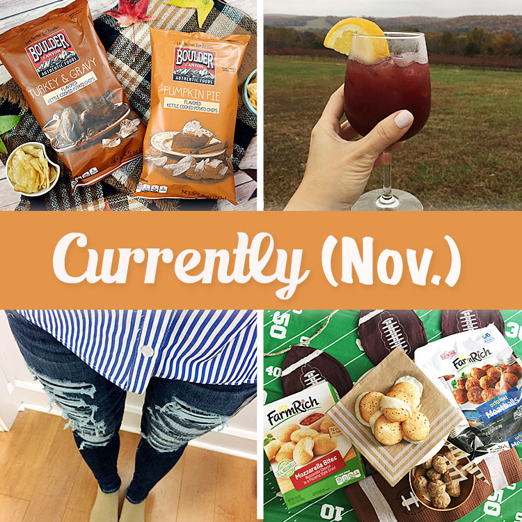 Carrie of Curly Crafty Mom shares what she's been currently up to in November