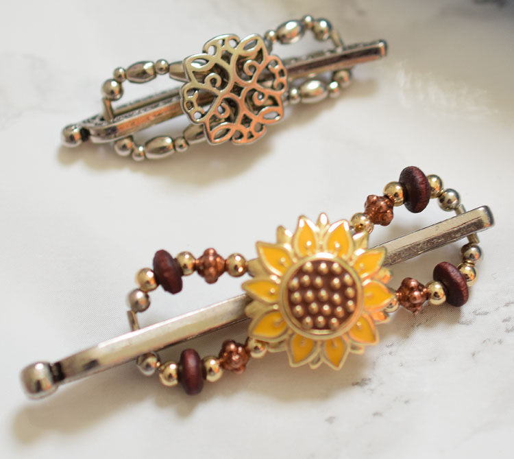 sunflower and Olympia Flexi-Clips