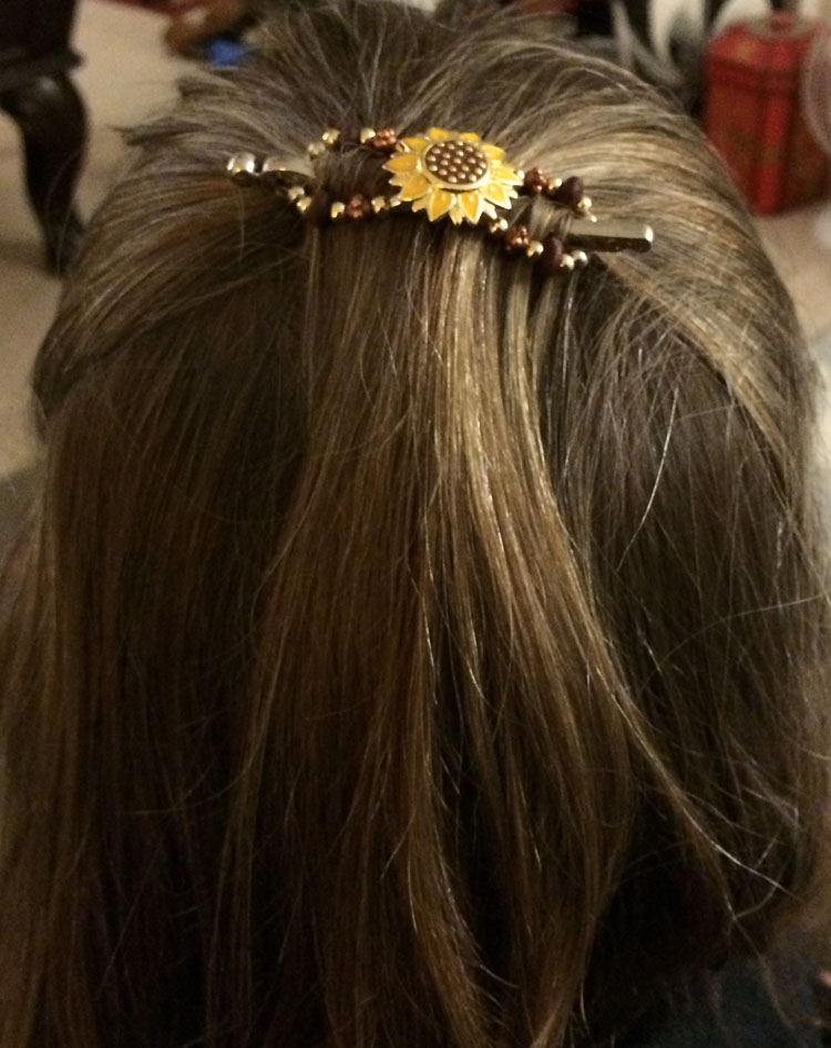 Lilla Rose sunflower Flexi-Clip