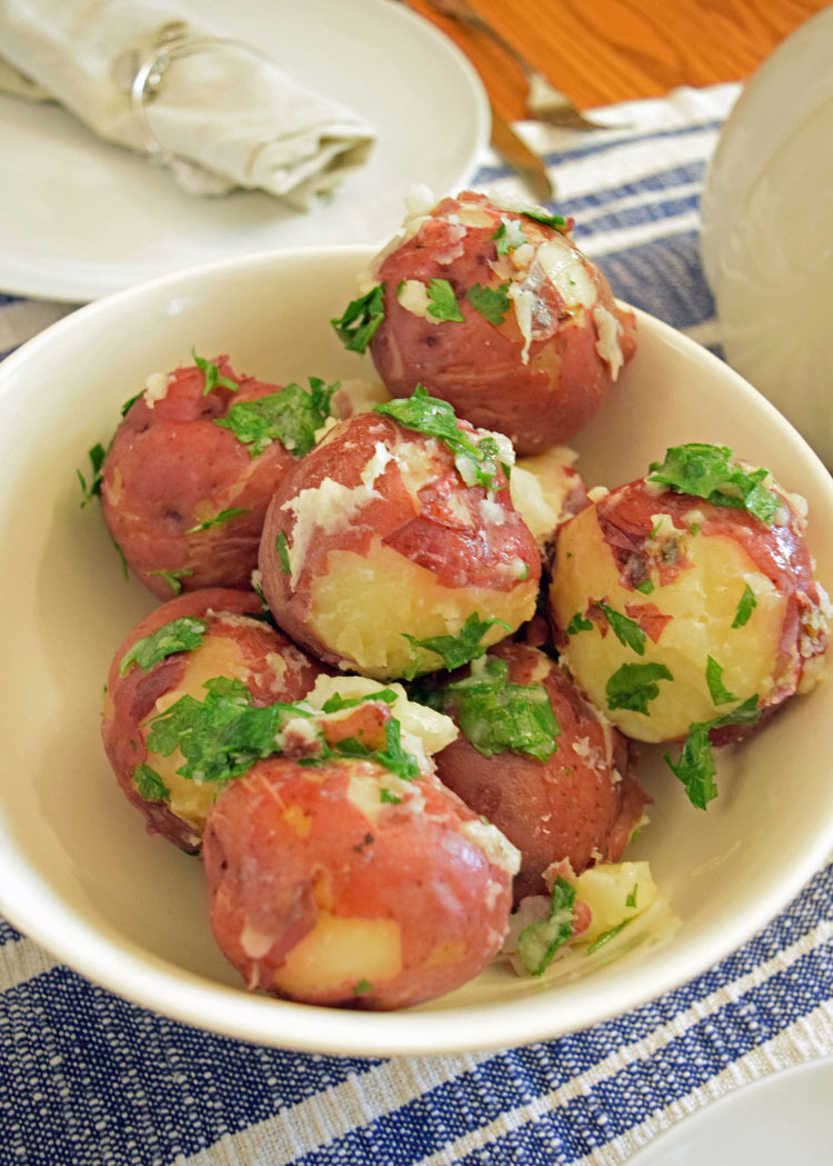 red bliss parsley potato recipe