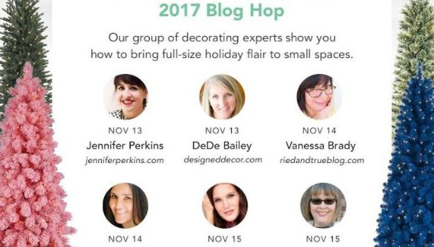 Christmas in Small Spaces 2017 Blog Hop {Day 1}
