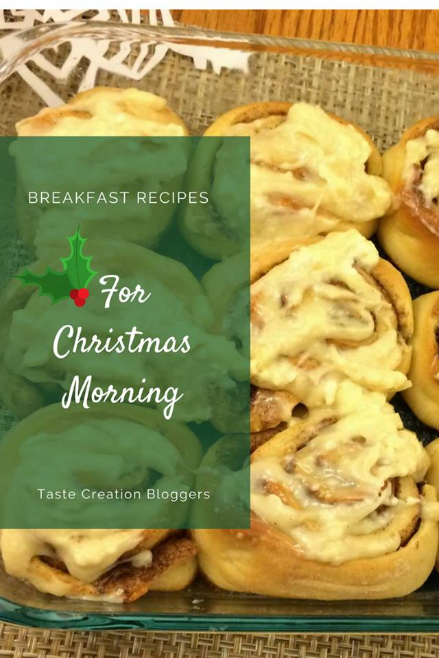 Christmas morning cinnamon sugar rolls