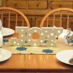 Silver & Reindeer Christmas Table