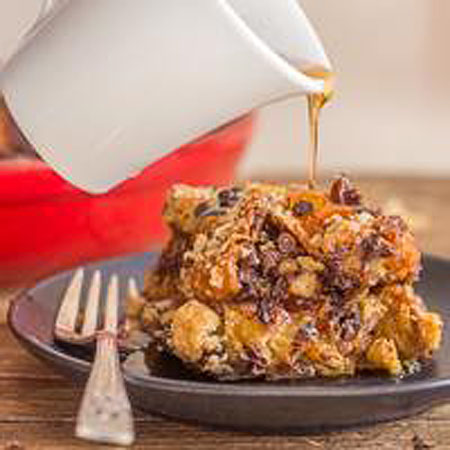 Easy Panettone French Toast Casserole