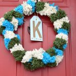 Festive Pom Pom Holiday Wreath