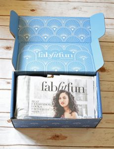 Winter Fab Fit Fun box