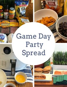 Easy and Delicious Game Day Party Spread