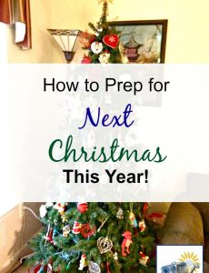 5 Ways to Prep for Next Christmas Now