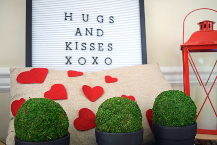 Valentines Day Letter Board Potted Moss Momhomeguide Com