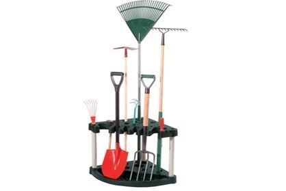 keter compact corner tool rack
