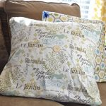 Easy Envelope Pillow Covers for Spring