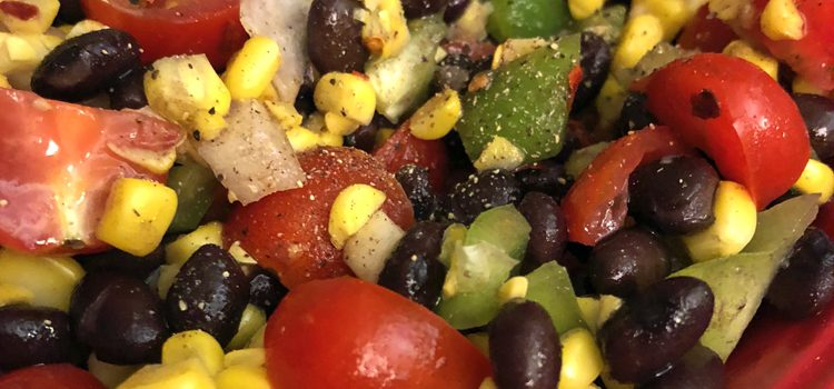 Zesty Black Bean Salsa Recipe
