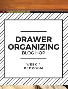 drawer organization blog hop