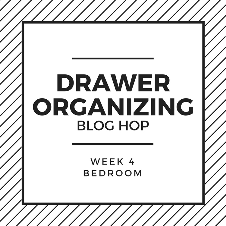 bedroom drawer organization