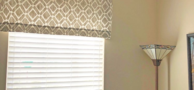 Hanging Window Valences – April Pinterest Challenge