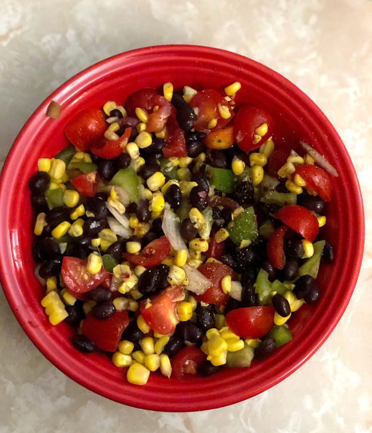 A recipe for homemade black bean salsa. This fresh bean salsa is flavorful and healthy.