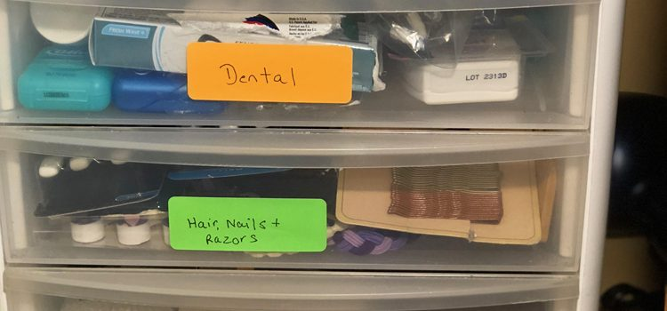 Organized Bathroom Drawers — Drawer Organizing Blog Hop