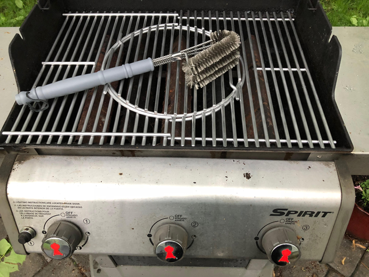 Cave Tools BBQ Grill Brush