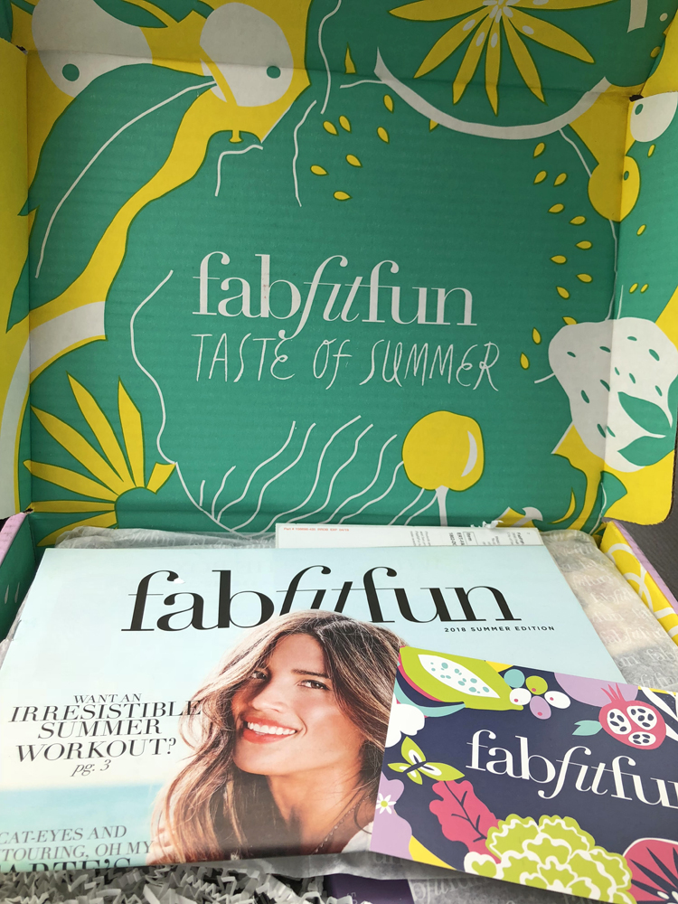 Summer 2018 Fab Fit Fun box