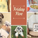 Friday Five — What I'm Reading & Fall Decorating