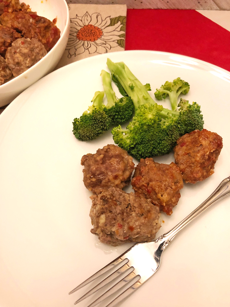 easy foil packet grilled meatballs